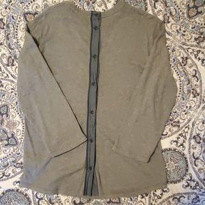EUC GAP LS shirt with back buttons!